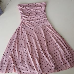 Hypnotik Mauve Strappless Summer Dress